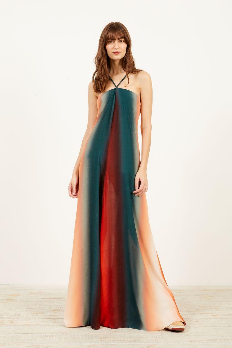 10915b667 vestido longo estampa siete