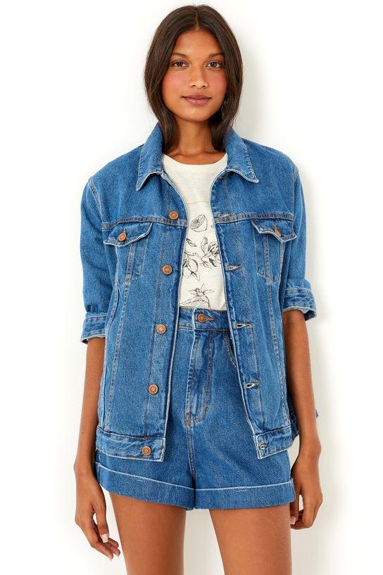 jaqueta jeans eco basic