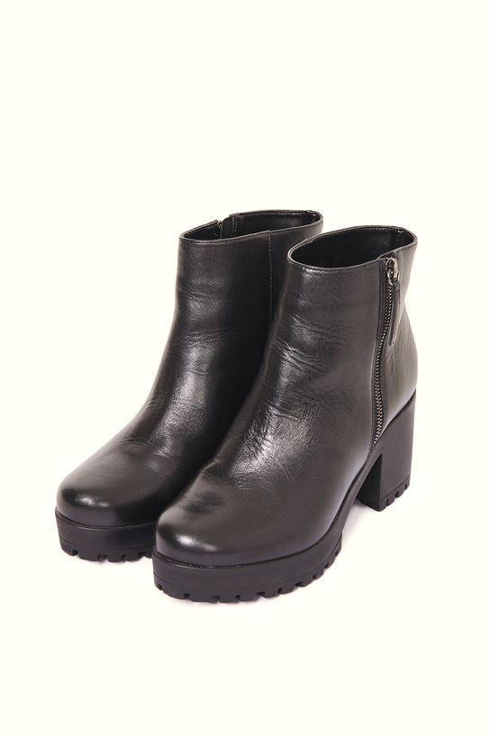 Sock Boot Preta